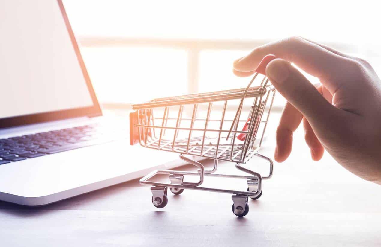 Shopping directement en ligne pour se faire livrer